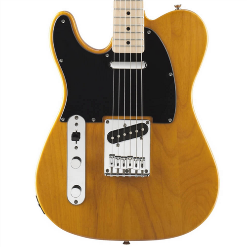 Squier Affinity Telecaster Left-Handed Maple Fingerboard Butterscotch Blonde 0310223550
